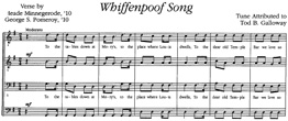 Thumbnail: Whiffenpoof Song sheet music